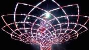 Beleuchteter Tree of Life der Expo Milano