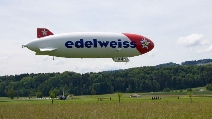 Startender Zeppelin
