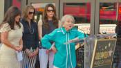 Betty White spricht an Sternverleihung