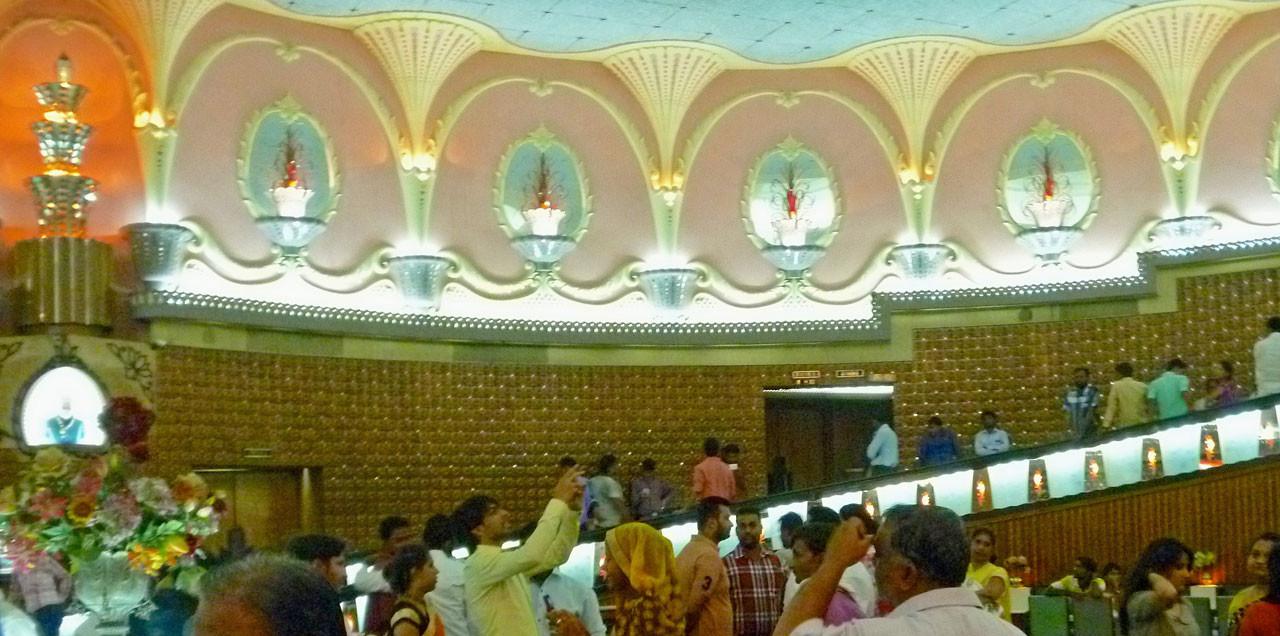 Foyer des Raj Mandir Kinos, Jaipur