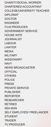 Liste der Berufe
